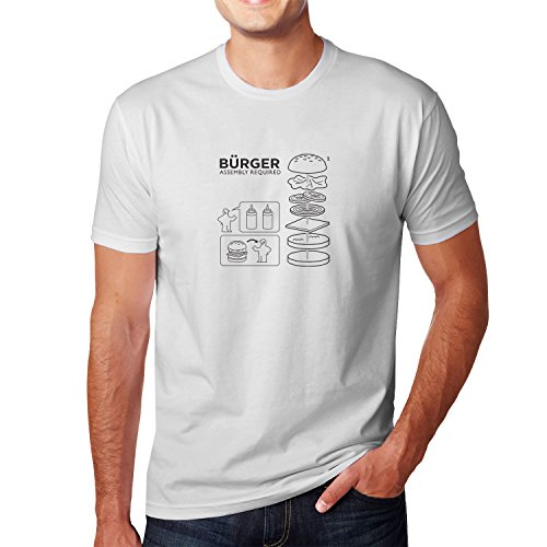 Planet Nerd - Bürger Assembly required - Herren T-Shirt, Größe L, weiß