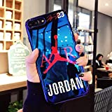 iPhone 7/8 Plus Case. Hot Fashion Fly Man Jordan 23 Blu-ray Soft Silicon Cover Case for iPhone 7/8 Plus Phone Cases Coque Capa.