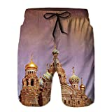 Men's Sportwear,Church of The Saviour on Spilled Quick Dry Board Shorts