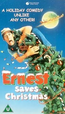 Ernest Saves Christmas Noelle Parker.Ernest Saves Christmas Vhs Jim Varney Douglas Seale