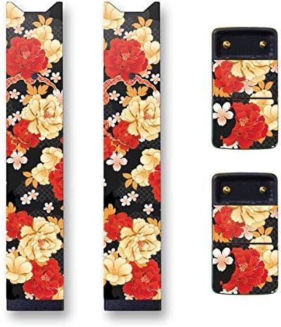 Biijo 일본 Juul Skin - 2팩 - 주UL 랩 액세서리 스티커 Hokusai Utagawa Kuniyoshi UKIYOE / Biijo 일본 Juul Skin - 2팩 - 주UL 랩 액세서리 스티커 Hokusai Utagawa Kuniyoshi UKIYOE