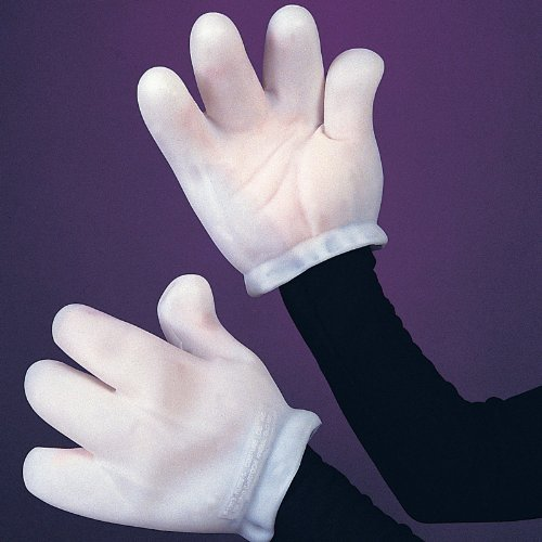 Adult Vinyl Cartoon Character (Cartoon Gloves)