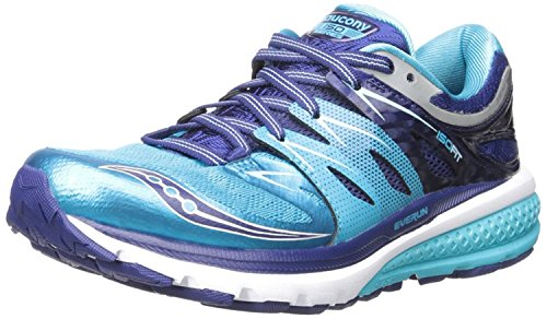 Saucony Womens Zealot Iso 2 running Shoe, Blau, 35.5 B(M) EU/3 B(M) UK