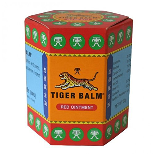 Tiger Balm Red Extra strength Herbal Rub Muscles Headache Pain Relief Ointment Big Jar, 30g