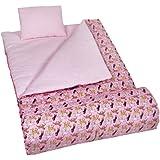 Wildkin Horses in Pink Original Sleeping Bag