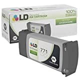 LD Remanufactured Replacement for Hewlett Packard CE043A (HP 771) Photo Black Ink Cartridge for use in HP DesignJet Z6200, and Z9000 Printers
