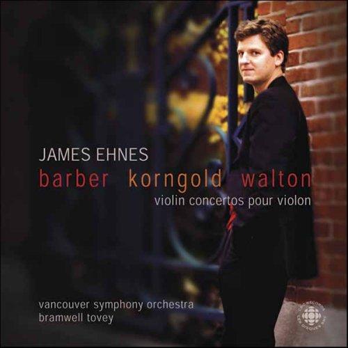 Barber, Korngold, Walton: Violin Concertos