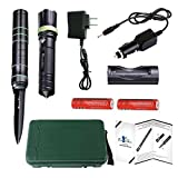 Futuresky Tactical Flashlight -Handy Survival Rescue Self Defense Emergency Knife With LED Rechargeable Torch and Window Breaker For Car Home Vehicle Camping Hiking Hunting Travel