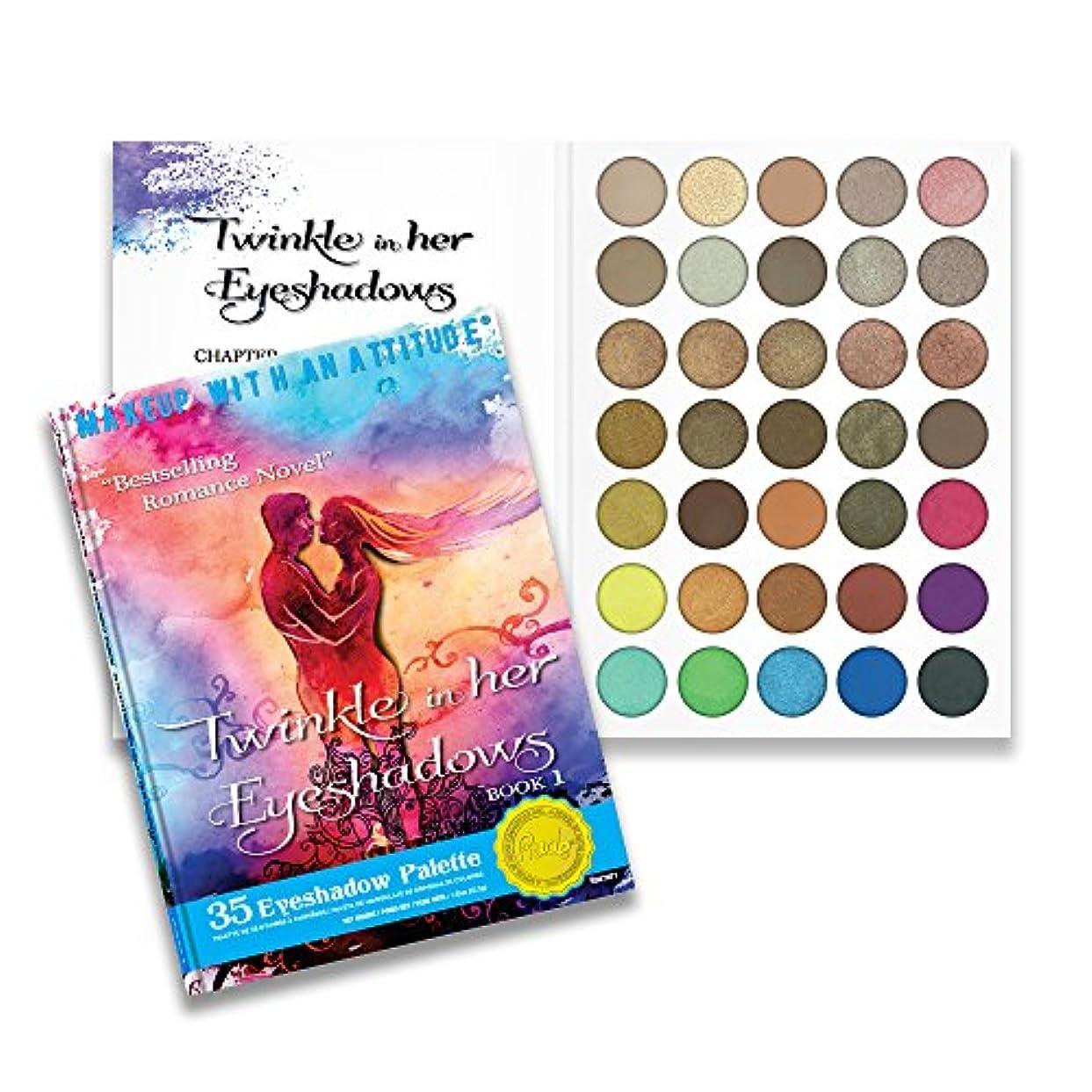名目上の農業エンコミウム(6 Pack) RUDE Twinkle In Her Eyeshadows 35 Eyeshadow Palette - Book 1 (並行輸入品)