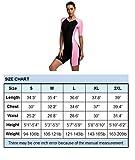 BELLOO Swimsuit for Women One Piece Short-sleeve