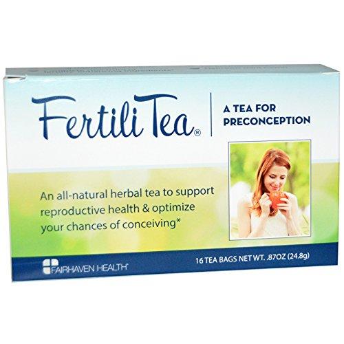 Fertilitea Tea (Fairhaven Health, FertiliTea for Women, 16 Tea Bags, .87 oz (24.8 g) Fairhaven Health, FertiliTea for Women, 16 Tea Bags, .87 oz (24.8 g) - 2pcs)