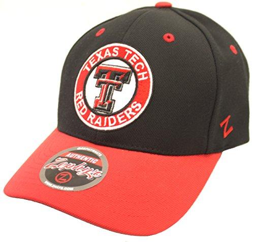 (Texas Tech Red Raiders Zephyr Circle Logo Adadjustable Hat)