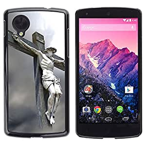 Graphic4You Jesus Crucifixion Christian Design Hard Case Cover for LG Nexus 5 by ruishername