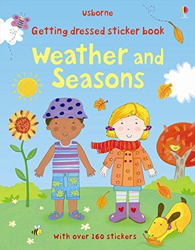 Getting Dressed Sticker Book: Weather & Seasons