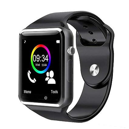 Amazon.com: Qidoou - Reloj inteligente con Bluetooth ...