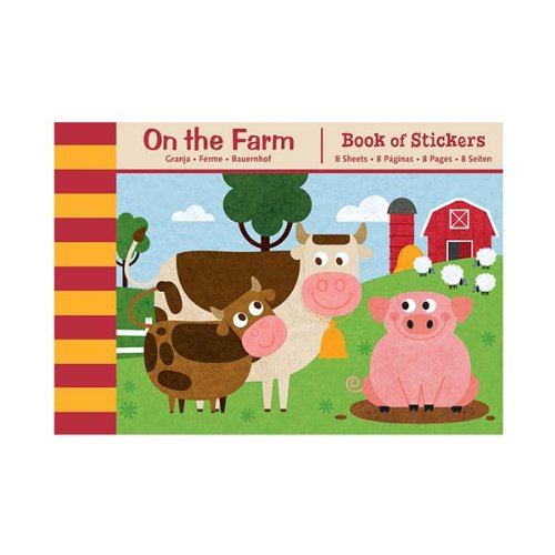 Mudpuppy On the Farm Book of Stickers