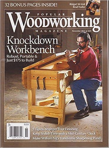 Popular Woodworking Magazine November 2015 Amazon Com Books