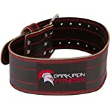 Genuine Leather Pro Weight lifting Belt for Men and Women | Durable Comfortable & Adjustable with Buckle | Stabilizing Lower Back Support for Weightlifting