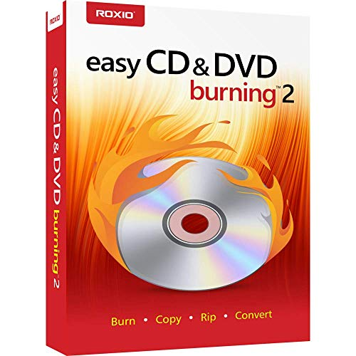 Roxio | Easy CD & DVD Burning 2 | Disc Burner & Video Capture [PC Disc]