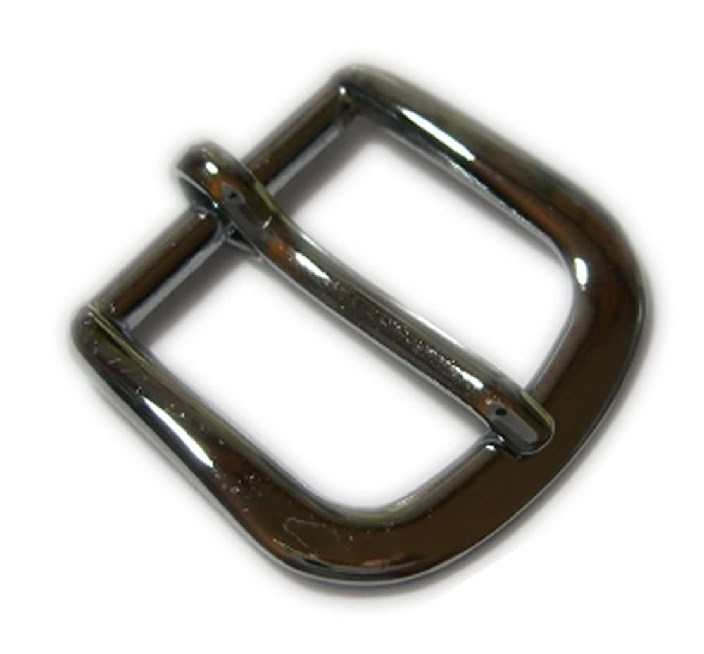 25mm (1 inch) Chrome Plated Zinc Buckle. For Belts Up To 25mm wide