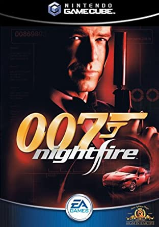 James Bond 007: NightFire Gamecube-cover game!