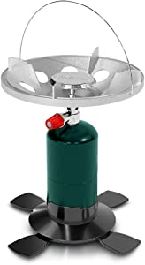 GasOne GS-8000 Bottletop Propane Tank Camp Stove with Waterproof Carry Bag