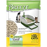 Control odor and make cleaning up your cat's litter box a hassle-free task with this purina tidy cats breeze cat litter pellets refill. Designed to work with the tidy cats breeze litter system (sold separately), These litter pellets allow urine to pa...