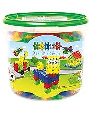 Partner Clics Toys - Cubo de 175 piezas, 9 modelos en 1 (BBM NV CB175)