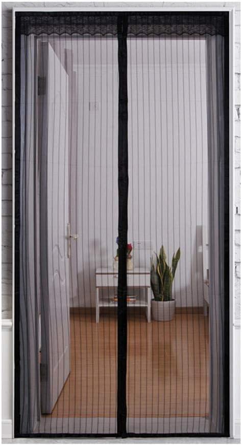 Yolistar Mosquitera Magnética para Puertas 100 x 210cm, Protección contra Insectos Magnético Cortina Mosquitera Magnética con Imanes Cierre Automático, para Puertas Corredera, Balcones, Terraza