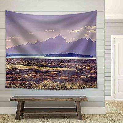Autumn in Grand Teton National Park Wyoming Fabric Wall Medium