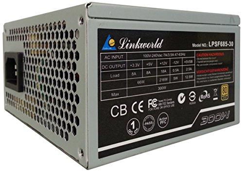 Image of Linkworld Electronic 80+ Bronze 300W SFX Power Supply LPSF685-30