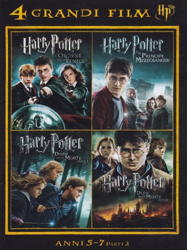 harry potter - 4 grandi film #02 (4 dvd) box set dvd Italian Import