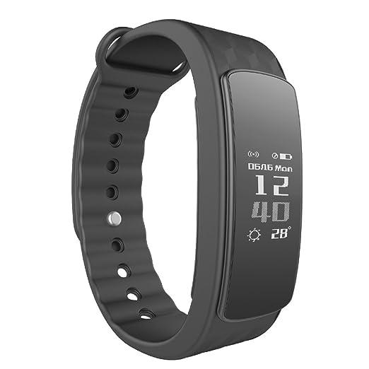 Smartwatch Demiawaking Reloj Inteligente Nuevos Relojes Inteligentes I3Hr con Monitor de Frecuencia Cardiaca Pedometer Smart Braceletf