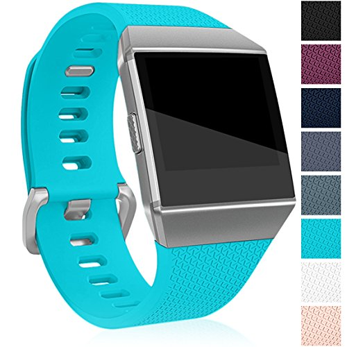 Maledan Replacement Band for Fitbit Ionic, Teal Large
