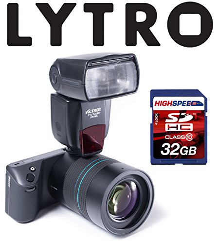 LYTRO ILLUM 40 Megaray Light Field Camera w/ JY-680N i-TTL Flash Speedlite