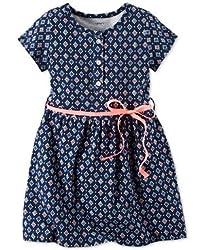 Carter's Geometric-Print Knit Dress, Toddler Girls (2T-5T) (4T)