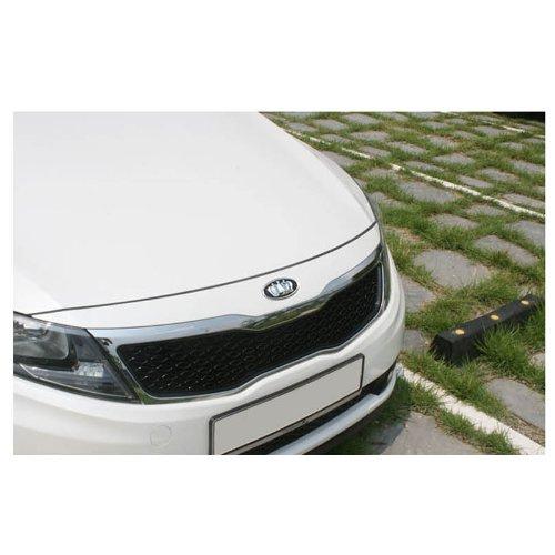 Autoria Front Rear Grill Trunk Chrome Crown Emblem 2-pc Set For 2011 2012 2013 Kia Optima K5