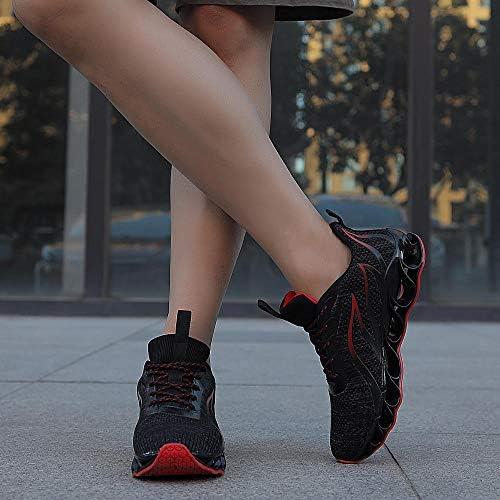 51N37K2gagL. AC TIAMOU Men Running Walking Shoes Sport Athletic Wihte Jogging Sneakers    Product Description