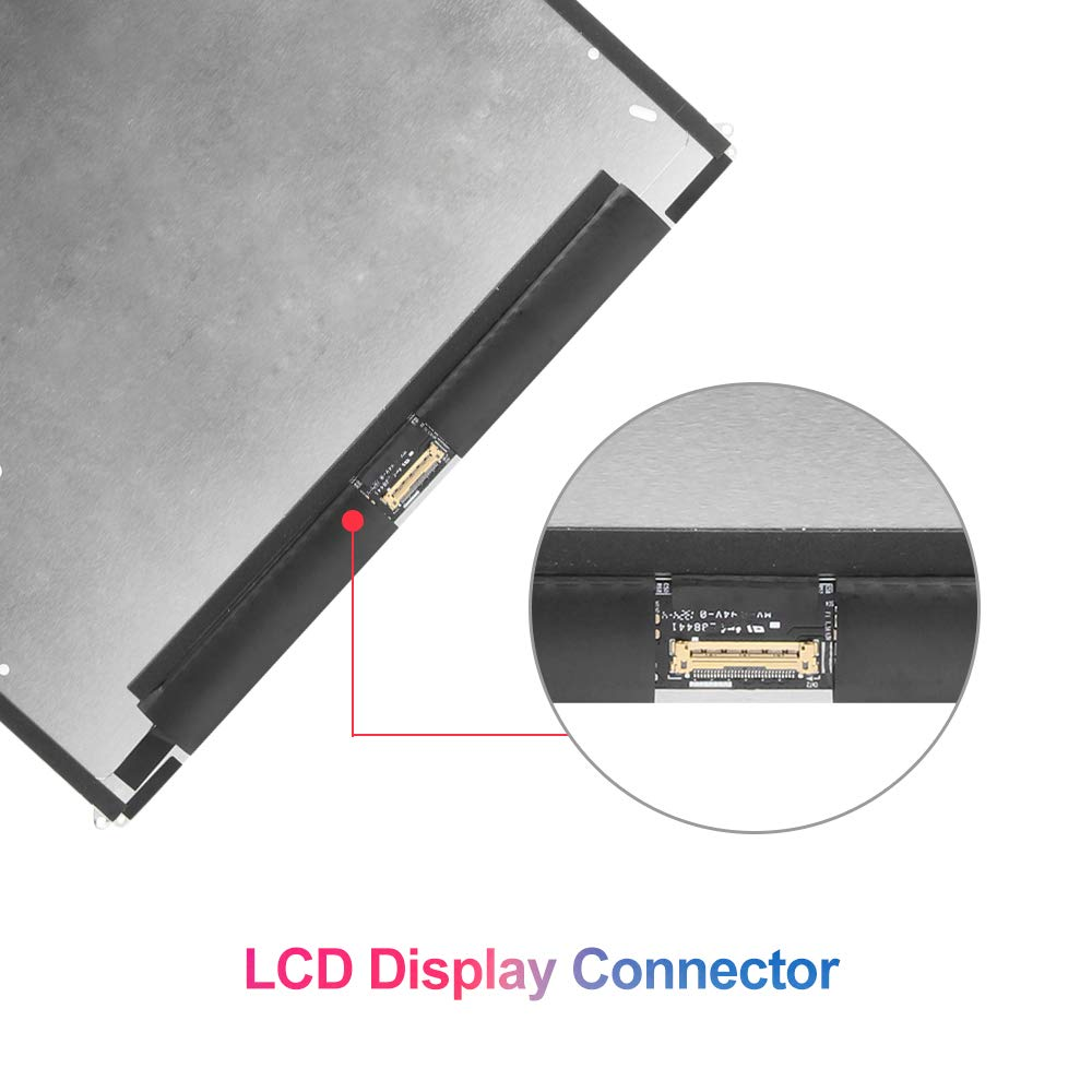 LCD Screen Replacement for IPad 2 - for iPad A1397 A1395 A1396 LCD Display Panel Repair Parts Kit by SRJTEK (Image #2)