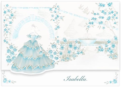 Blue Bulk Quinceanera Invitations - Girl Mission Aqua, 250 pack by LCI Paper