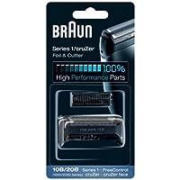 Braun 81695826 - Braun 10b pack de recambio para afeitadora eléctrica hombre series 1/freecontrol/cruzer con láminas de…