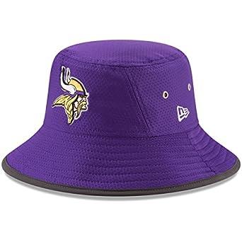0f8a5b87 New Era Minnesota Vikings 2017 Training Camp Official Bucket Hat- Purple