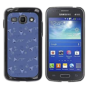 Paccase / SLIM PC / Aliminium Casa Carcasa Funda Case Cover para - Party Birthday Gift Pattern Cone - Samsung Galaxy Ace 3 GT-S7270 GT-S7275 GT-S7272