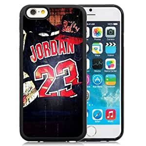 New Personalized Custom Designed Case For Iphone 6 4.7Inch Cover PC Phone Chicago Bulls Jersey Jordan 23 Phone Case Cover
