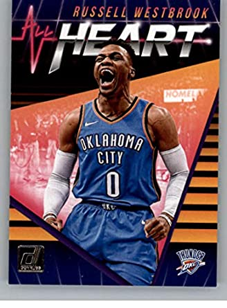 separation shoes 84397 0ac01 Amazon.com: 2018-19 Donruss All Heart #10 Russell Westbrook ...