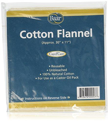 Cotton Flannel Castor Oil Pack ()