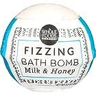 Whole Foods Market, Milk & Honey Fizzing Bath Bomb, 2.3 Ounce