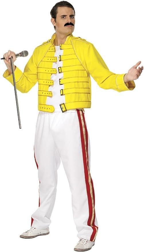 Smiffys Disfraz de Freddie Mercury Queen™ para hombre: Amazon.es ...