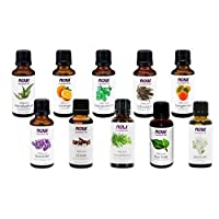 Now Foods Essential Oils 10-Oil Variety Pack Sampler