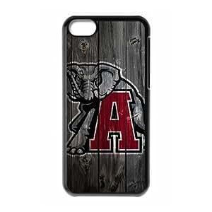 Alabama Crimson Tide iPhone 5c Cell Phone Case Black xlb-203522